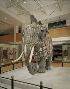 Elephant armour (bargustawan). Indian, Mughal, about 1600