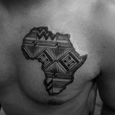 Future Tattoos, Tattoos For Guys, Cool Tattoos, Small Tattoos, Tatoos, Worlds Best Tattoos, Popular Tattoos, Tatoo Africa, Afrika Tattoos
