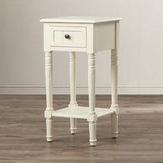 Andover Mills Everly 1 Drawer End Table & Reviews | Wayfair