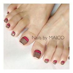 トピック354/要素3260606 Toenail Art Designs, Feet Nails, Elegant Nails, Toe Nail Art, Ants, Manicure, Makeup, Drawings, Nail Art