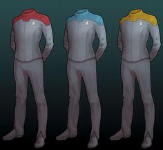 Pasi Pitkänen uploaded this image to 'Star Trek'. See the album on Photobucket. Star Trek Bridge, Star Trek Shirt, Trek Deck, Combat Suit, Comic Clothes, Star Trek Cosplay, Star Trek Characters, Futuristic Armour, Cyberpunk