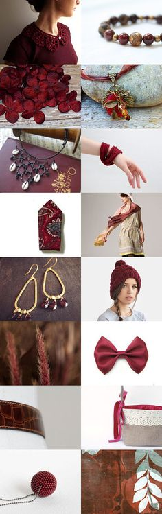 Marsala by Amy on Etsy--burgundy color trends january trends marsala pantone 2015 pantone color of the year rdt rdtt red rusty dusty team treasurybox trendsetters trendsetting team