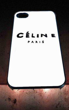 Celine Paris Logo for iPhone 4/4s, iPhone 5/5S/5C/6, Samsung S3/S4/S5 Unique Case *76* - PHONECASELOVE