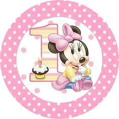 Minnie First Year with Polka Dots: Free Printable Candy Bar Labels. Theme Mickey, Baby Mickey, Mickey Party, Minnie Mouse 1st Birthday, Mickey Minnie Mouse, Disney Parties, Mouse Parties, Baby Mouse, Mini Mouse