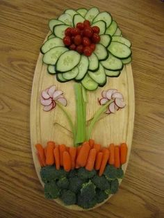 flor de vegetales