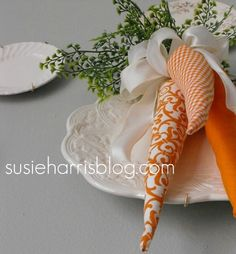 carrots - easy sewing project.....