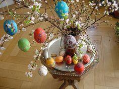Decorated Easter eggs by olga_rashida, via Flickr