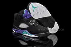 http://www.nikeriftshoes.com/popular-nike-air-jordan-5-kids-black-new-emerald-grape-ice.html POPULAR NIKE AIR JORDAN 5 KIDS BLACK NEW EMERALD GRAPE ICE Only $60.00 , Free Shipping!