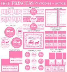 Princess Collage Text