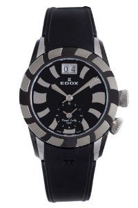 Edox Women's  87002 3 NIN GMT Quartz Royal Lady Watch
