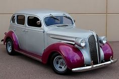 1937 Plymouth Plymouth Sedan Street Rod Suicide Doors Ford Mustang Motor Stretrod Hotrod Oldtimer built by Chrysler Antique American