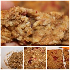 Easy and Healthy Oatmeal Bars   1/2 cup honey 1 tbsp coconut oil 1/3 cup peanut butter 1/2 tsp vanilla extract 1/4 tsp. cinnamon, ground 2 cups oats, 1/2 cup chopped honey roasted peanuts ,