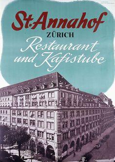 St. Annahof Zürich - 1938 -