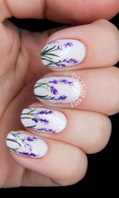 nice 20 Beautiful Spring Nail Art Designs