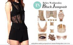 Aquí te damos una opcion de como lucir este hermoso jumpsuit  http://fridaynite.com.mx/ar806.html #designyourself #newitems #fashiongirl #fashionkids #fashionmen