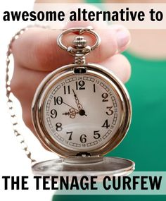 awesome alternative to the teenage curfew