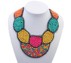 Cheap necklace findings, Buy Quality necklace component directly from China necklace wood Suppliers: Beads false collar statement necklace/boho chic ladies necklace maxi/max colar/bijoux/bijuteria/neckless/gargantilha/bij