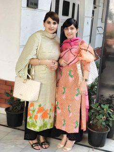 #pintrest@Dixna deol Punjabi Suits Designer Boutique, Boutique Suits, Indian Designer Suits, Indian Suits, Indian Dresses, Indian Wear, Frock Fashion, Fashion Outfits, Woman Fashion