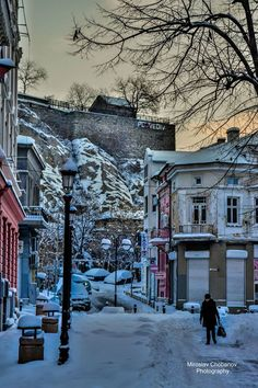 Winter, Plovdiv