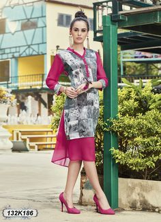 Buy Captivating Grey and Pink Colored Georgette Designer Kurti Get 30% Off + 10% Extra Off on Designer Kurtis From Leemboodi Fashion with Free Shipping in INDIA Now Available on COD #trendy #kurtis #womens #ladies #womensfashion #ladiesfashion #womensweardaily #womenswear #shoponline #onlineshopping #onlinestore #onlineshop #instaclothes #shopping #trends #fashioninsta #desifashion #indiashopping #indianfashion #shopnow #fashionstyle #ontrend #indianwear #designerclothes #designerkurti