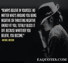 Image detail for -Always believe in yourself – Michael Jackson | Image Quote Eaquotes ...