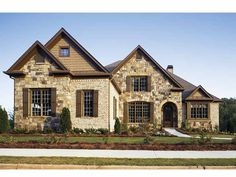 Eplans French Country House Plan - Cast in Stone - 2776 Square Feet and 4 Bedrooms from Eplans - House Plan Code HWEPL13247