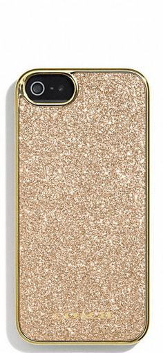 Gold Glitter Case for iPhone .:JuSt*!N*cAsE:.