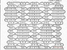 Gallery.ru / Фото #2 - Тесьма брюгге - новые идеи и образцы - Alleta Granny Square Crochet Pattern, Crochet Diagram, Basic Crochet Stitches, Crochet Chart, Crochet Squares, Easy Crochet Patterns, Crochet Motif, Knitting Stitches, Stitch Patterns