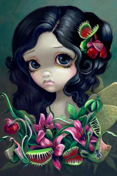 Carnivorous Bouquet by Jasmine Becket-Griffith   DecalGirl