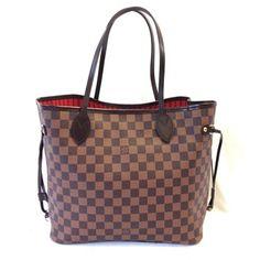 Louis Vuitton Neverfull Neo New Model Nm Damier Ebene Mm Tote Shoulder Bag Vuitton Neverfull, Louis Vuitton Damier, Louis Vuitton Shoulder Bag, New Model, Dust Bag, Tote Bag, Pattern, Bags, Handbags