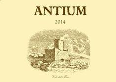 Antium - Bellone - Casale del Giglio #vino #wine #naming #packaging #design