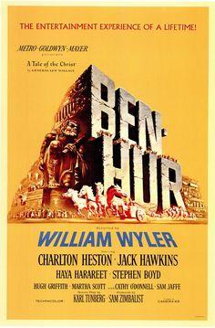Ben-Hur - hands down, best chariot race EVER!