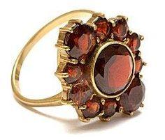 Unique Garnet ring