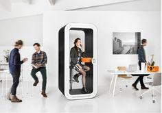 Phone Booth by Framery disponible chez http://mobilier-bureau-suisse.com/