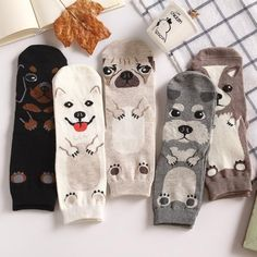 Adult Size Crew Socks Unisex Pet Short Puppy Doberman Corgi Dachshund Sausage Dog Pug Doge Papillon Collie Husky Schnauzer New Corgi Dachshund, Chihuahua, Dog Socks, Cute Socks, Schnauzer, Carlin, Crazy Socks, Funky Socks, Colorful Socks