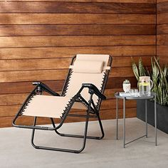 Zero Gravity Chair For Outdoor Garden Patio Back Yard Pool Relax Chair Beige for sale online Hanging Swing Chair, Hammock Swing, Swinging Chair, Room Hammock, Outdoor Hammock, Deck Chairs, Cool Chairs, Outdoor Chairs, Lounge Chairs