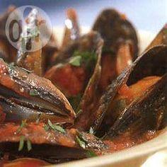 Mussels in a red chilli broth @ allrecipes.com.au