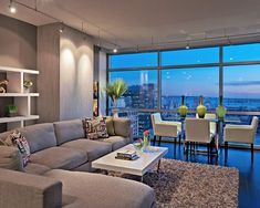 Living the Urban Vibe - Modern - Living room - Photos by London Jewell ID | Wayfair