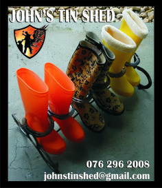 Boot Stand Tin Shed, Hunter Boots, Rubber Rain Boots, Recycling, Shoes, Zapatos, Shoes Outlet, Shoe, Footwear