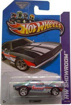 2013 Hot Wheels Super Treasure Hunt '67 Camaro (Q case)