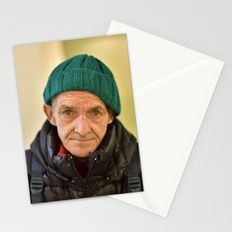 Homeless in northern Italy Stationery Cards