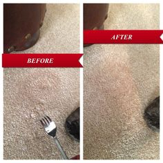 Quick Fix For Matted Carpet Where Furniture Once Sat Warning