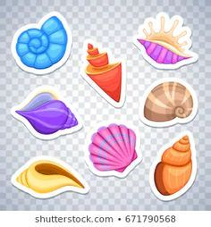 Find sea shell stock images in HD and millions of other royalty-free stock photos, illustrations and vectors in the Shutterstock collection. Little Mermaid Cake Topper, The Little Mermaid, Sea Shells Image, Mermaid Vector, Happy Birthday Printable, Homemade Stickers, Gifts For Office, Resin Art, Projects For Kids