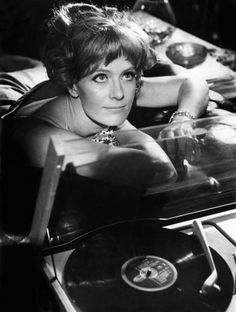 Vanessa Redgrave digs the records...
