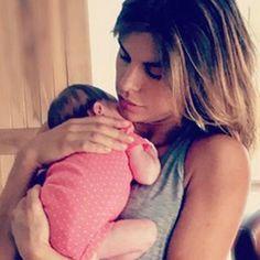 #Skyler Eva: la prima foto con #mamma Elisabetta #Canalis