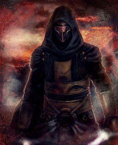 Darth Revan, Sith Lord, Kotor, Star Wars: Knights of the Old Republic Star Wars Darth Revan, Star Wars Sith, Star Wars Rpg, Star Wars Fan Art, Darth Vader, Anakin Skywalker, Star Wars Kotor, Starwars, Aliens