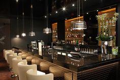 'V Lounge' at The Vincent Hotel, Southport LIGHTING DESIGN: into lighting INTERIOR: designLSM