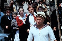 Robin Williams as Popeye.