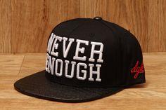 e14661477b8 DGK NEVER ENOUGH SNAPBACK HAT BLACK £34.95