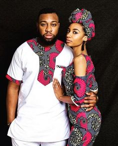 The most classic collection of beautiful traditional and ankara styles and designs for couples. These ankara styles collections are meant for beautiful African ankara couples Couples African Outfits, African Dresses Men, African Men Fashion, Couple Outfits, African Attire, African Wear, African Beauty, African Women, Mens Fashion